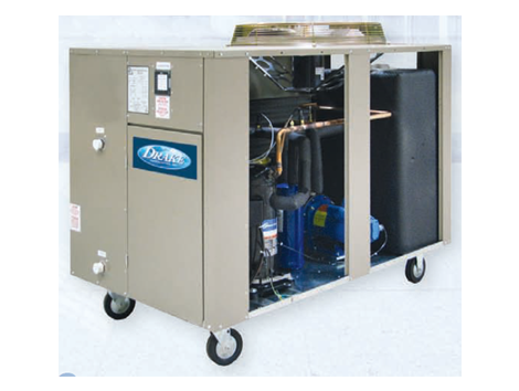 Air Cooled Chillers - Industrial and comercial refrigeración equipment