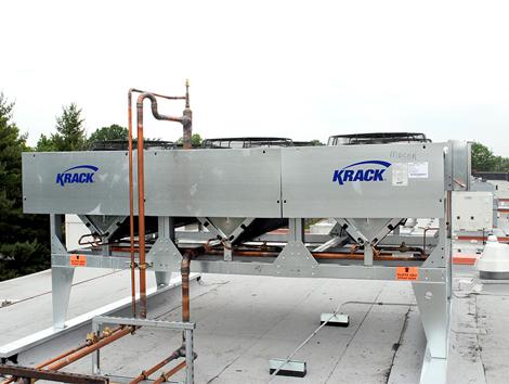 Condensador de Microcanal Enfriado por Aire - Equipos de Refrigeración Industrial