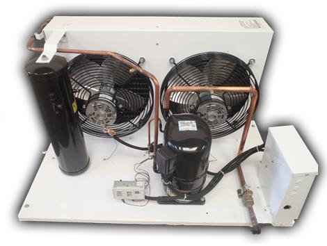 Unidades Condensadoras HI/HO (1 – 5 HP) - Equipos de Refrigeración Industrial