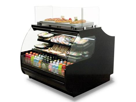 Self Service Display Cases - Industrial and comercial refrigeración equipment