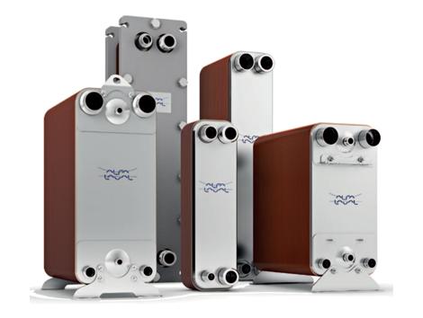 Copper Brazed Plate Heat Exchangers