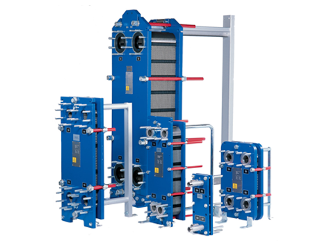 <p>Gasketed Plate and Frame Heat Exchangers</p> - Industrial and comercial refrigeración equipment