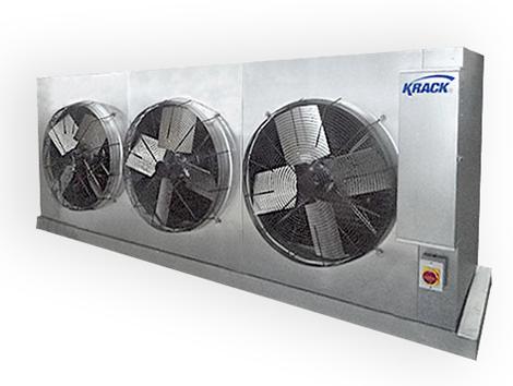 Evaporadores Serie SM / SV - Equipos de Refrigeración Industrial