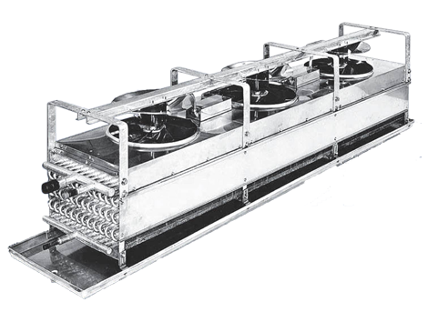 BTR  Industrial Evaporator Series - Industrial and comercial refrigeración equipment