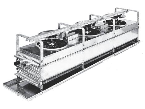 Evaporador Axial Serie BTR - Equipos de Refrigeración Industrial