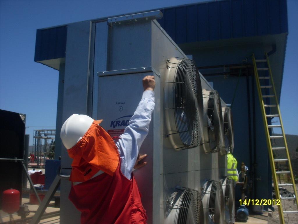 Refrigeración industrial para minería
