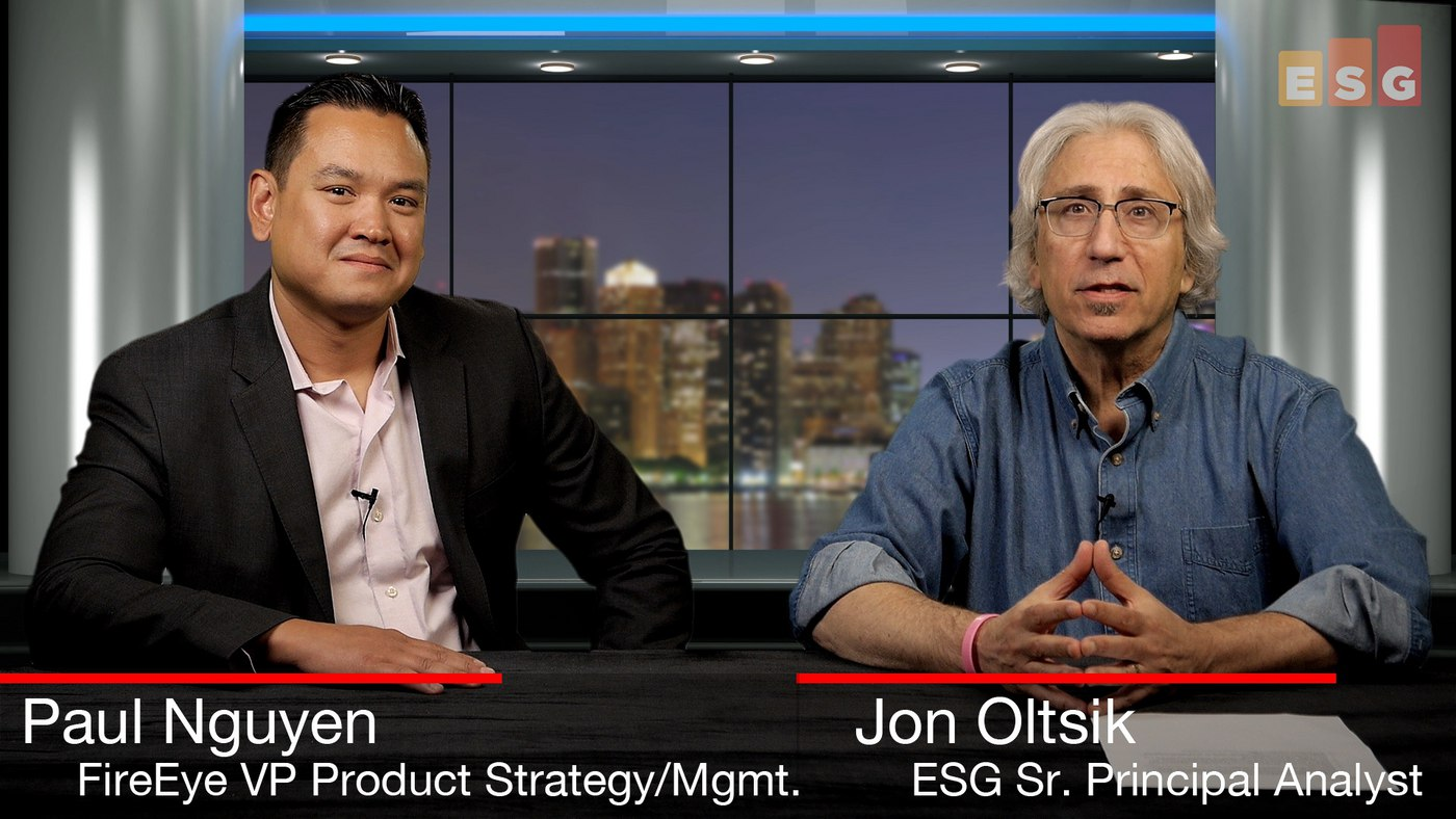 ESG360 Video: SOAPA Interview With Paul Nguyen of FireEye