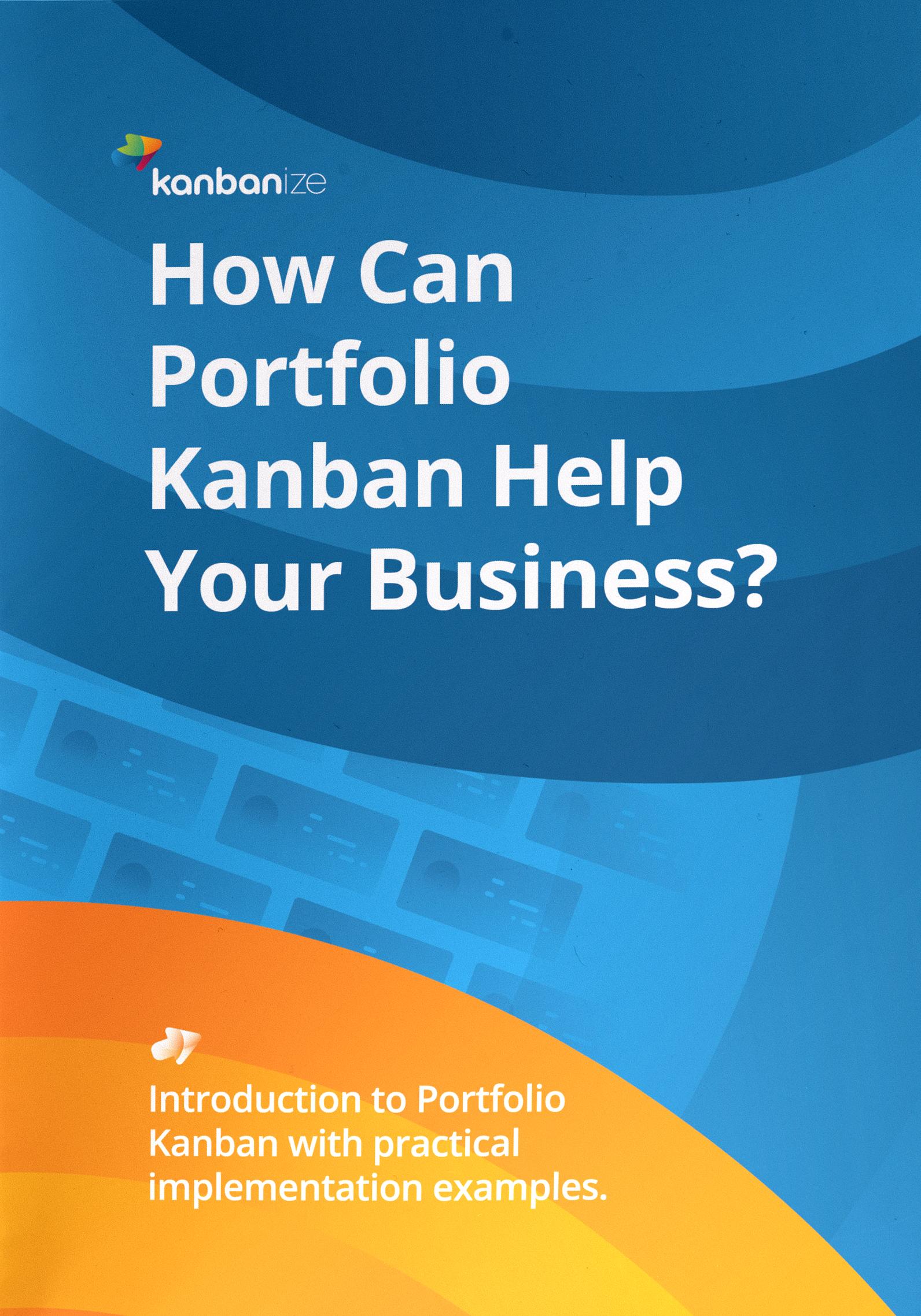 Portfolio Kanban Book Cover