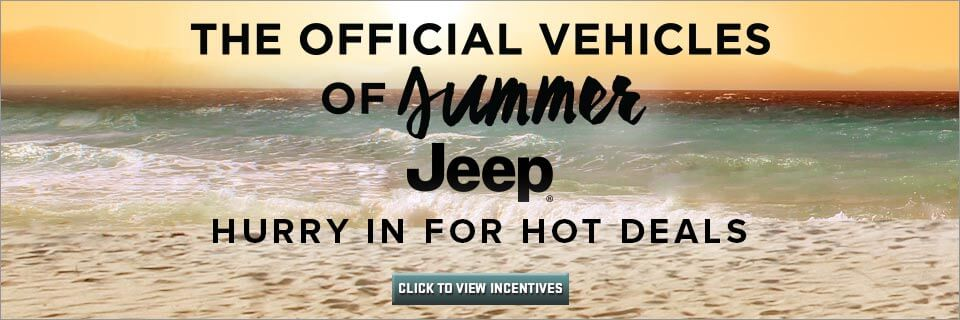 Jeep Summer Sales Event at Eide Chrysler