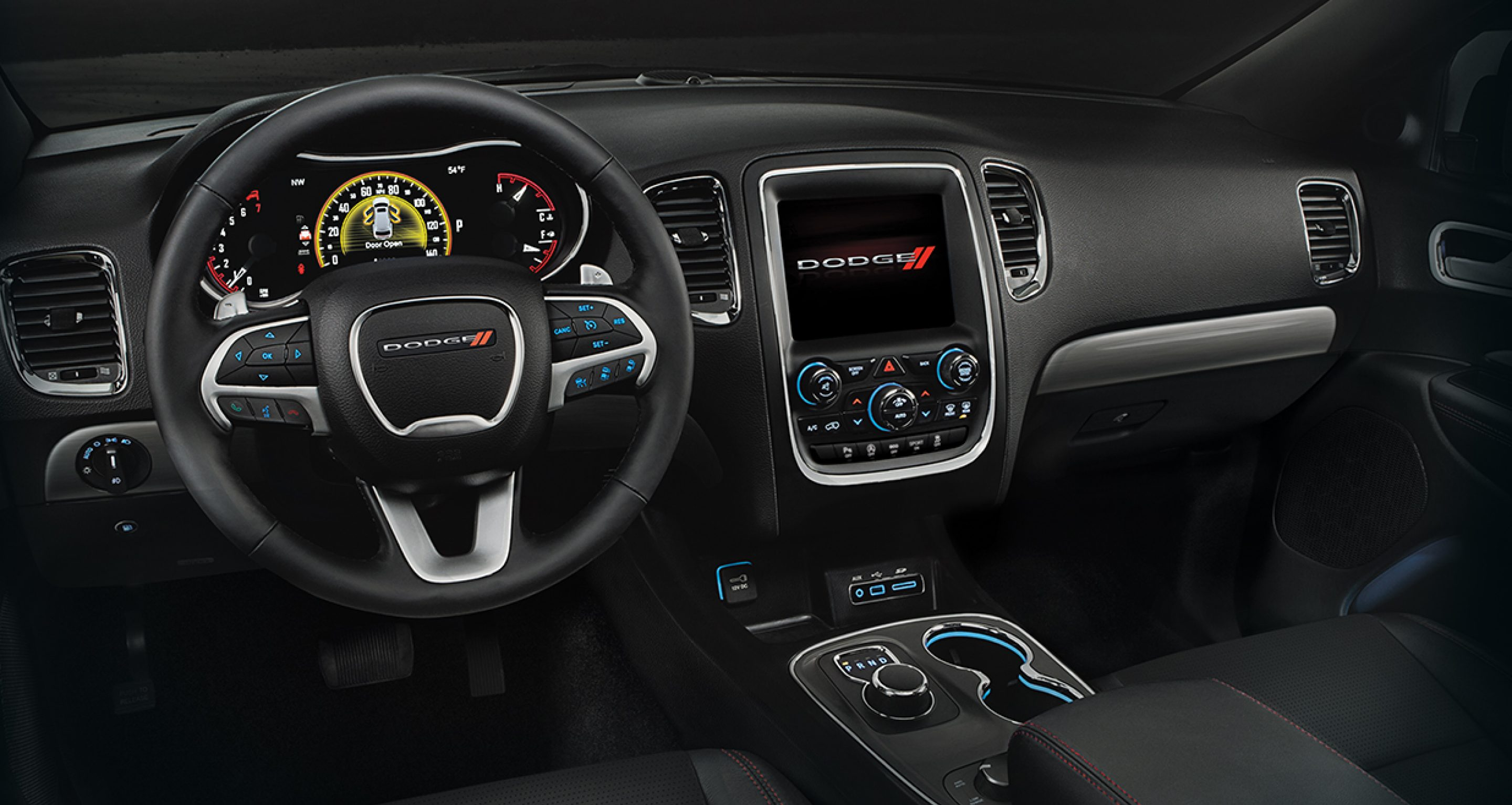 2017 Dodge Durango interior and dashboard