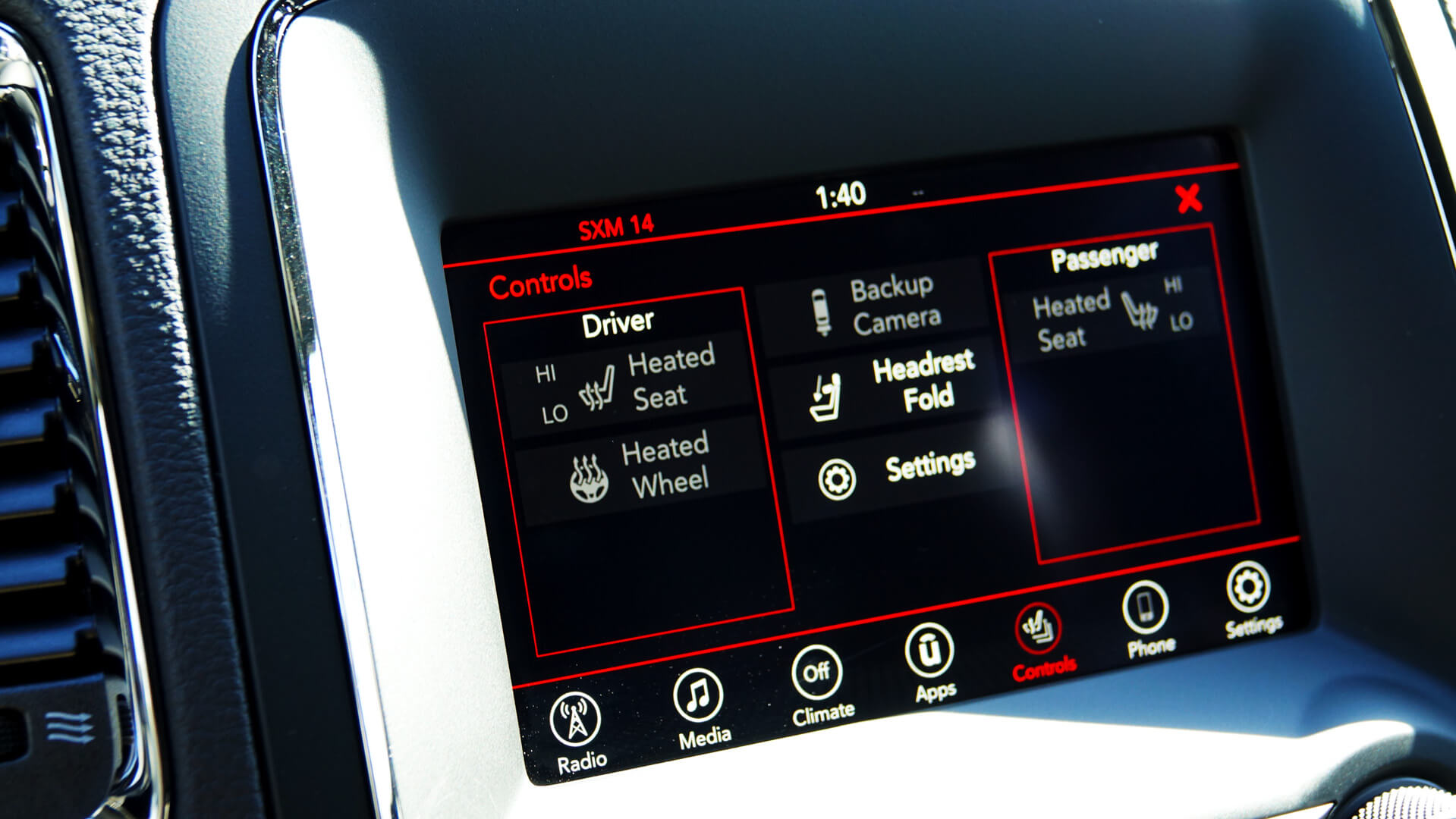 Tech features in the new Dodge Durango