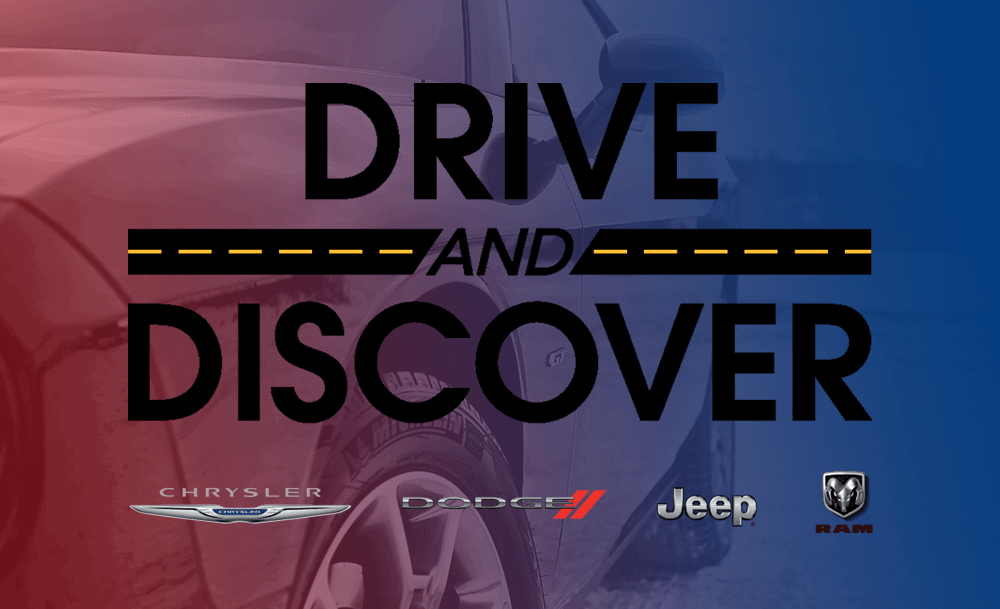 Drive & Discover at Eide Chrysler