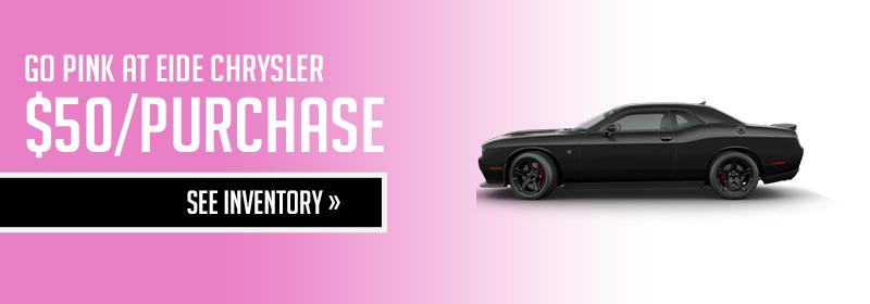 Eide Chrysler Go Pink