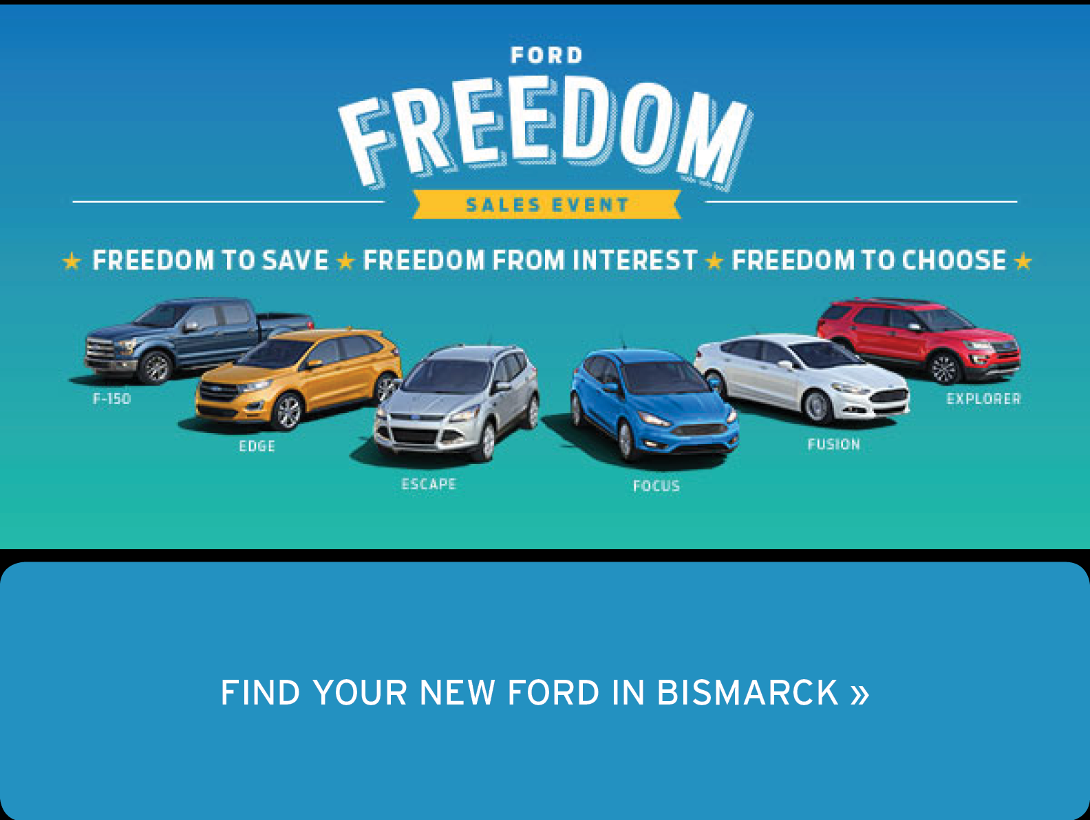 Freedom Sales Event Launched At Eide Ford Lincoln