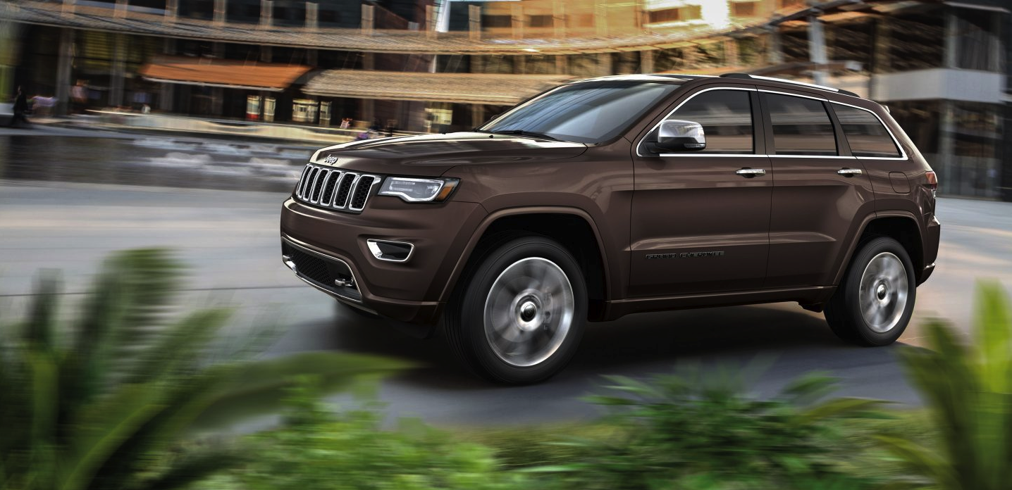 Roll stability in the new Grand Cherokee in Bismarck