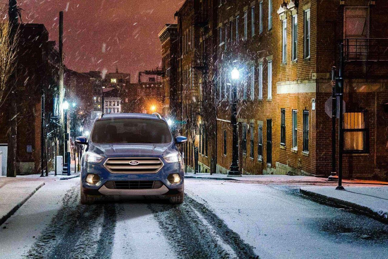 Handle the Bismarck snow with the 2018 Ford Escape