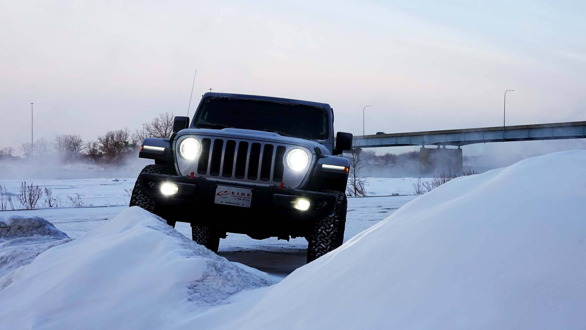 Handle any North Dakota terrain with the Jeep Wrangler JL