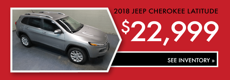 Buy a Jeep Cherokee Latitude in Bismarck
