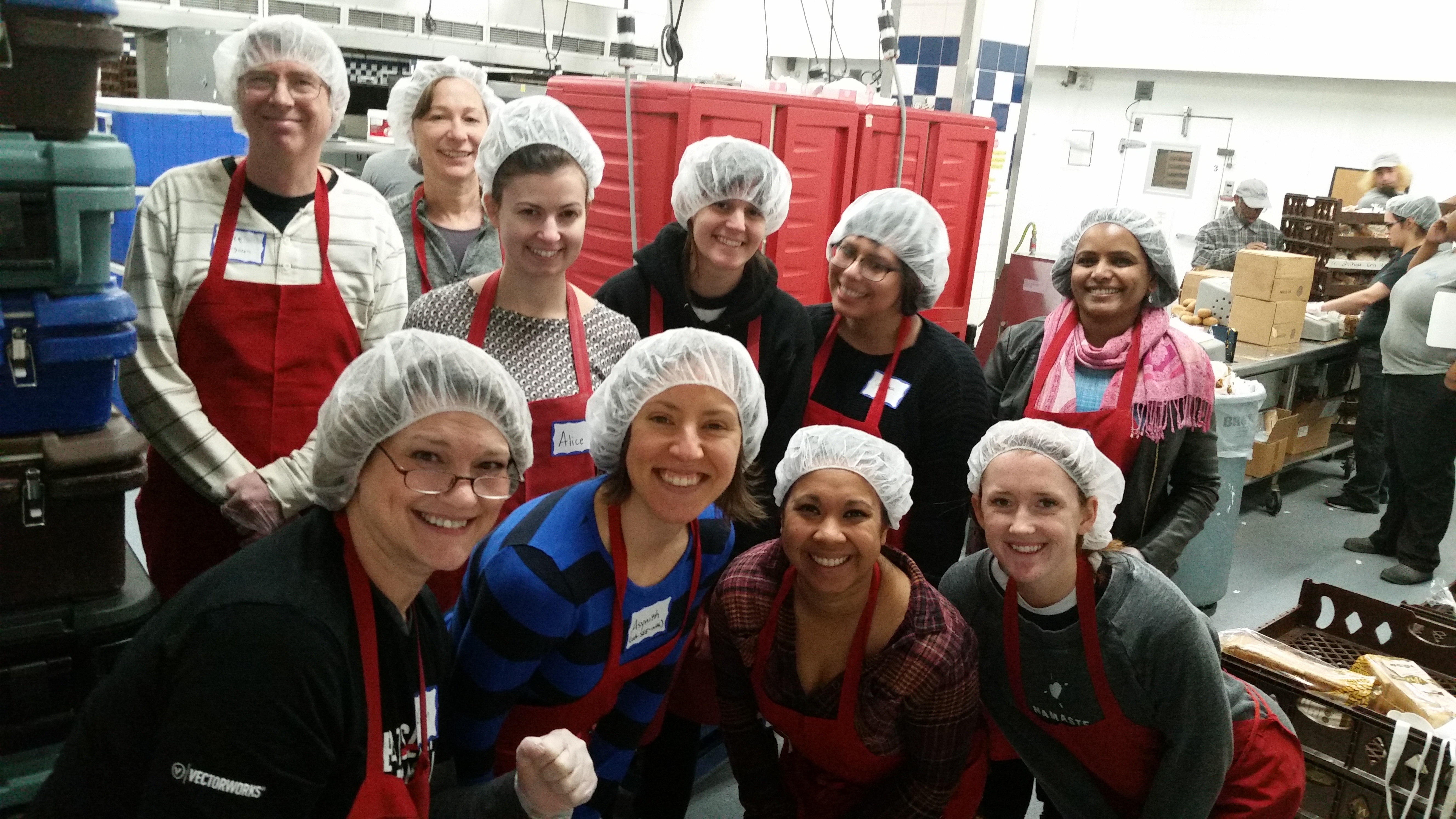 Vectorworks Employees Get Excited About Community Service