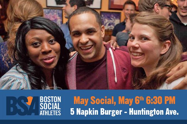Click for details on our May Social