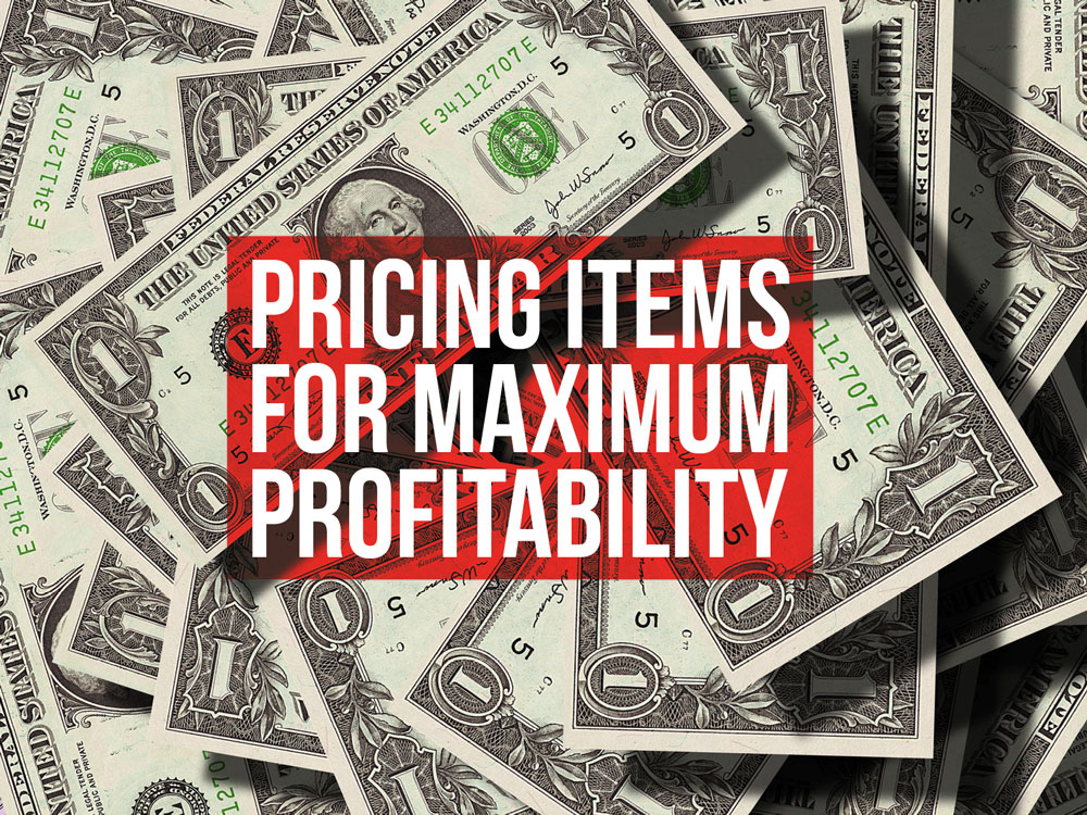 Pricing-items-for-max-profitablility