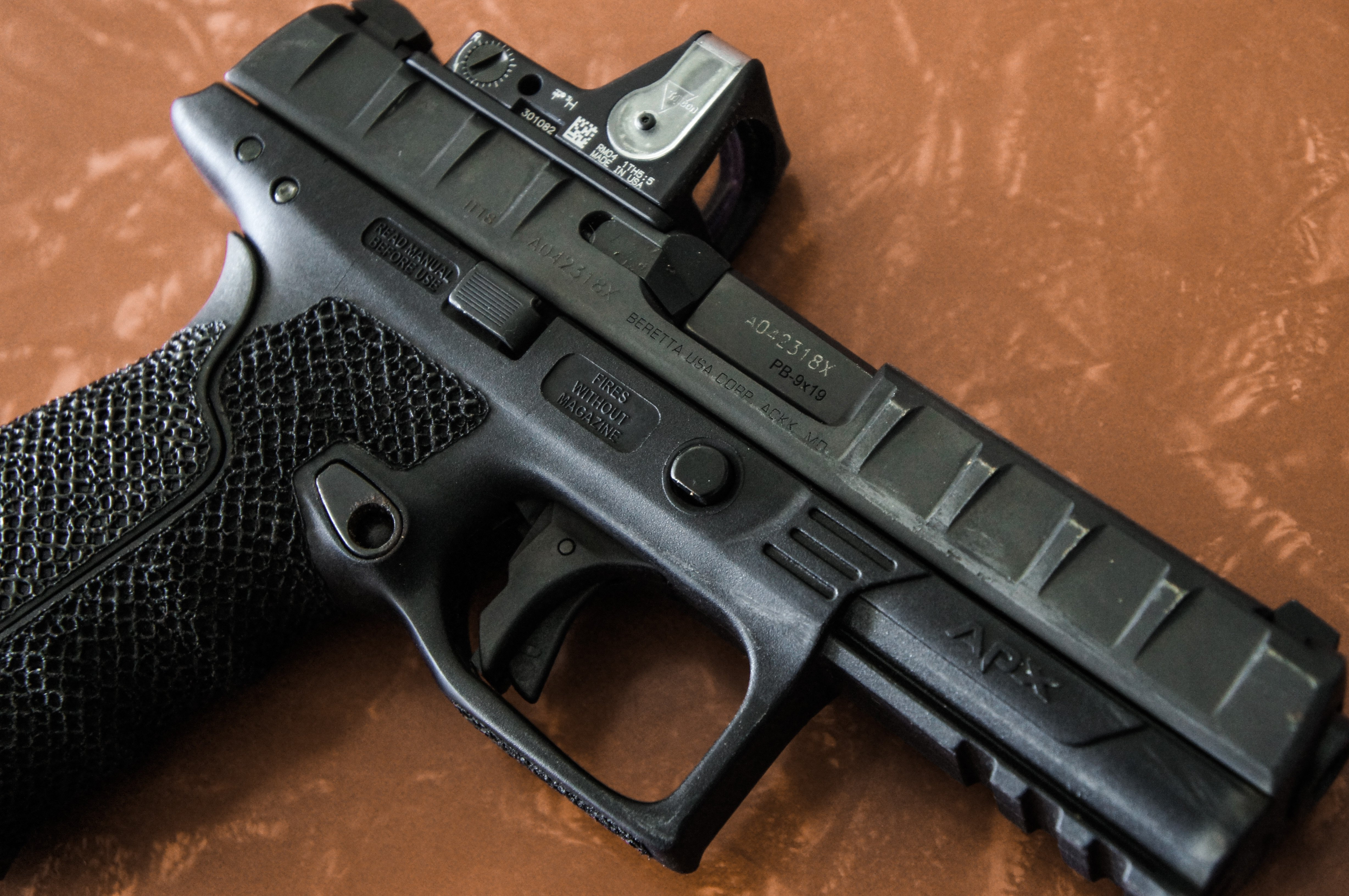 Check Out These Performance Upgrades for the Beretta APX Pistol