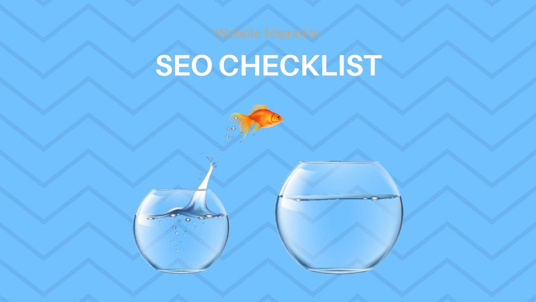 SEO checklist for website migration
