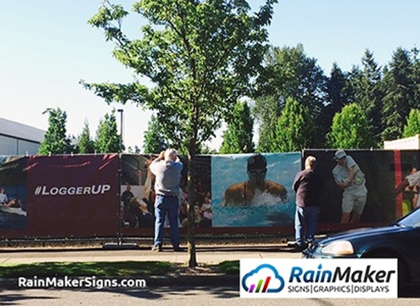 University Of Puget Sound Construction Fence Banners