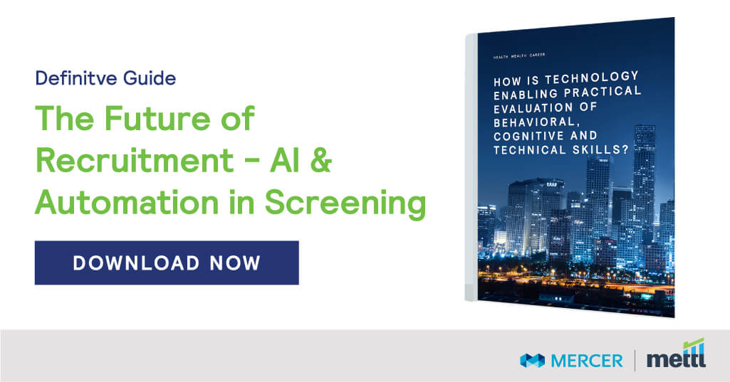 The Future of Recruitment - AI & Automation in Screening