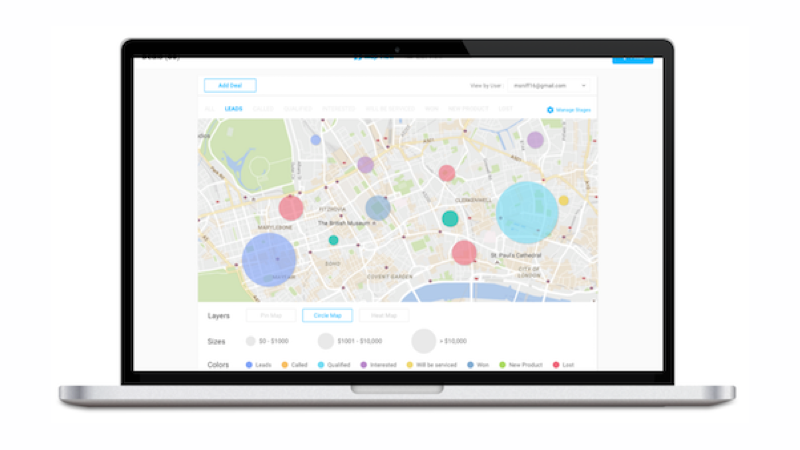 Map My Customers | HubSpot App Marketplace