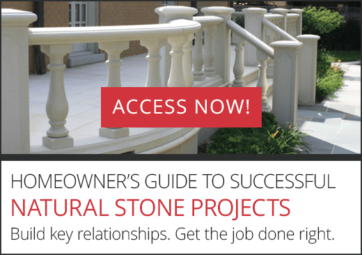 Homeowner's guide to successful natural stone projects