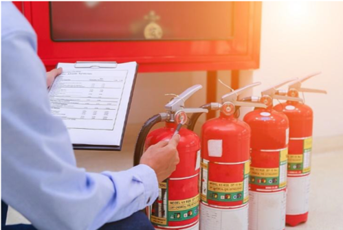 failed safety inspection retire extinguisher