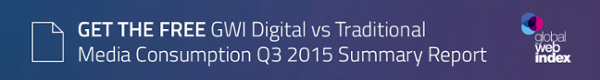Digital vs Traditional Media Consumption report is now available to download