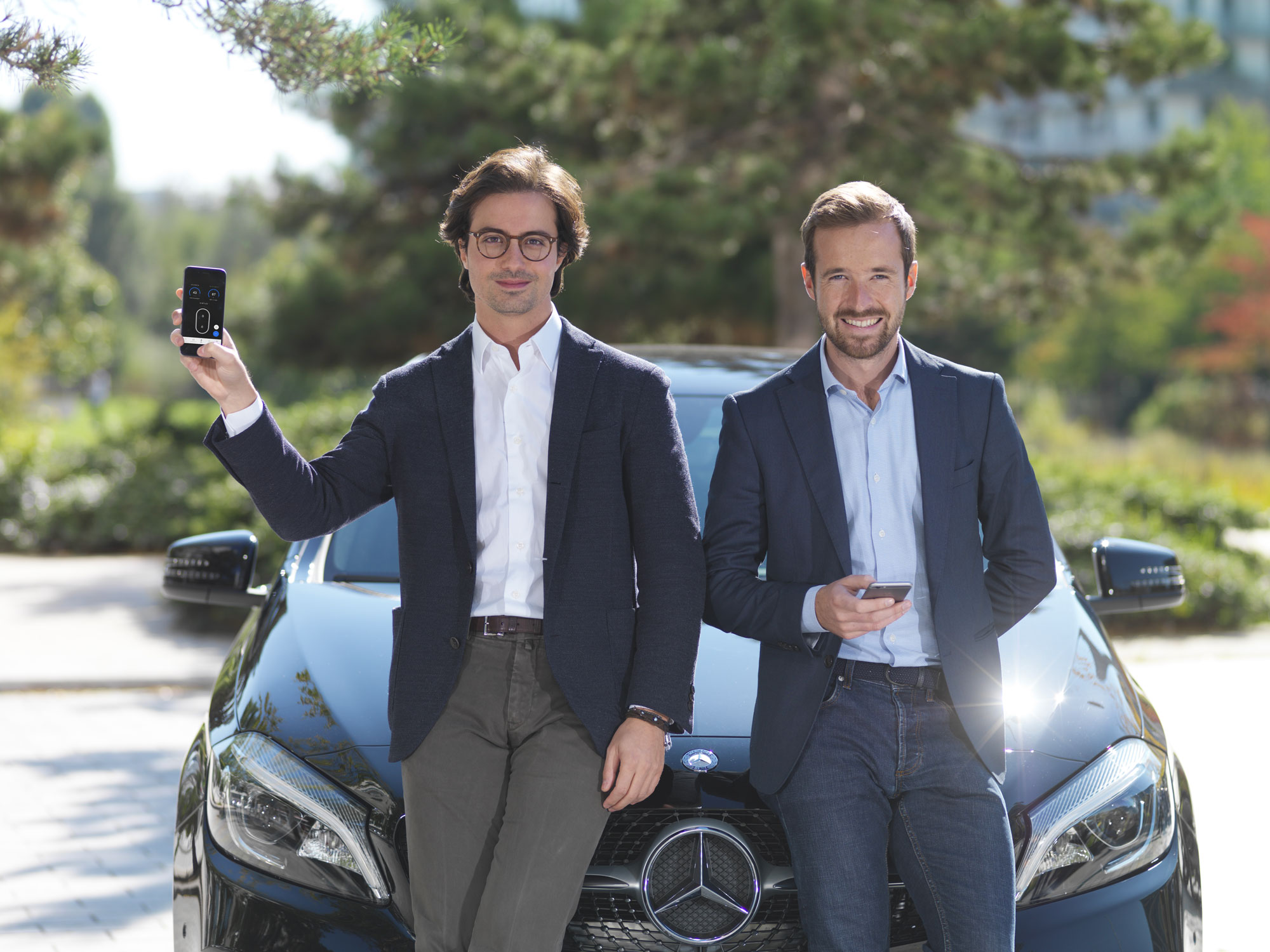 Karim Kaddoura and Thibault Chassagne, founders of Virtuo.