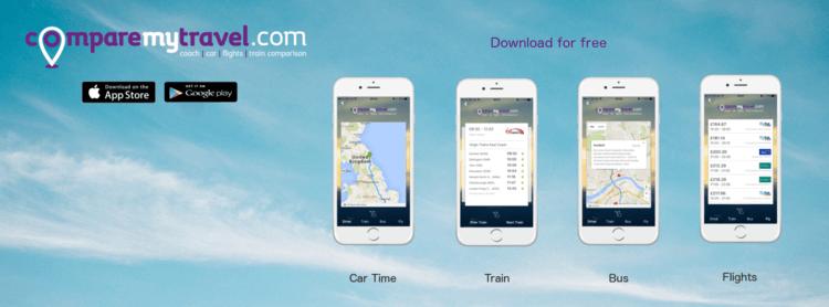 Comparemytravel app