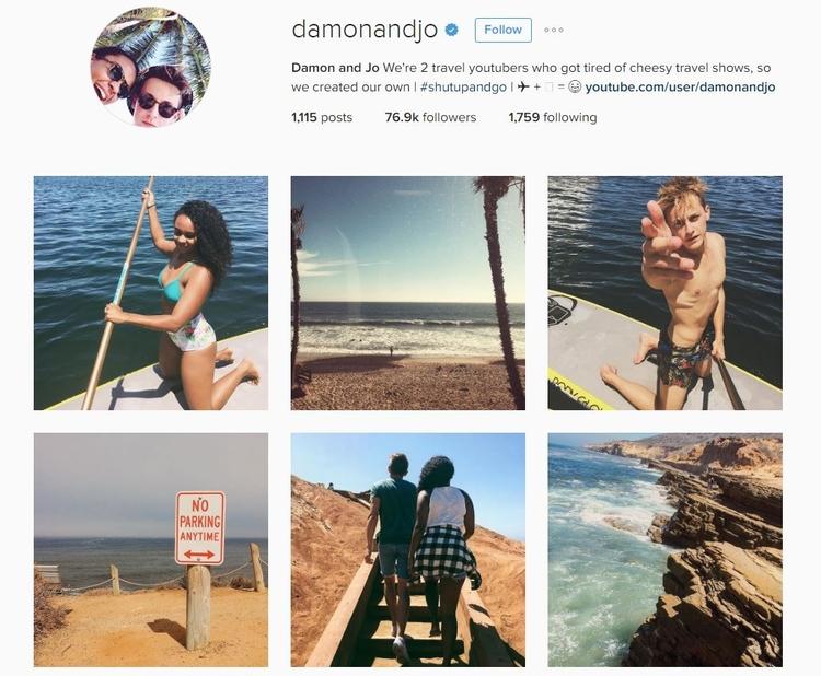 Damon and Jo Instagram