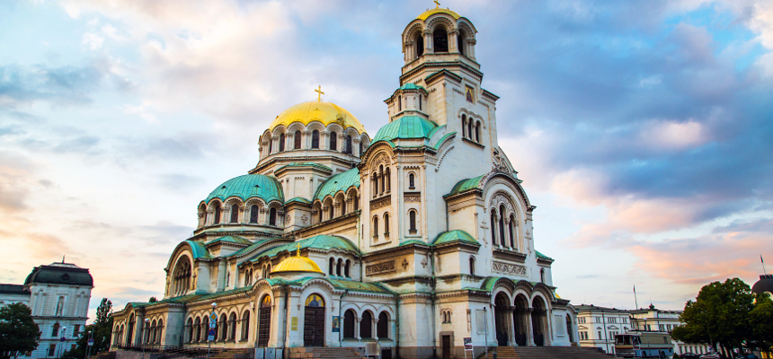 Alexander Nevsky Cathedral in Sofia