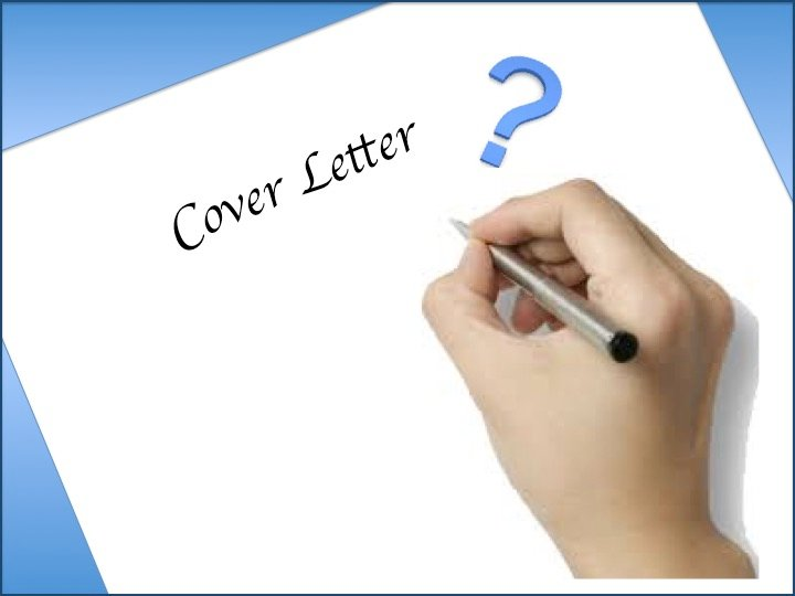 Tips for writing a good cover letter for Tips for writing cover letters effectively