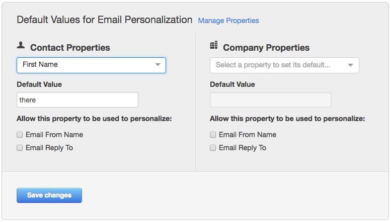 hubspot email personalisation