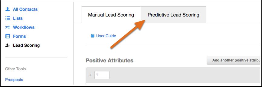 predictive lead scoring in hubspot