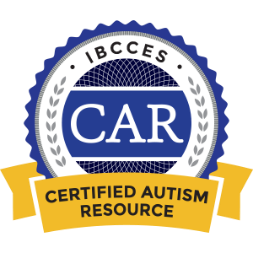 IBCCES Certified Autism Resource badge