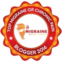Top Migraine and Chronic Pain Blogger