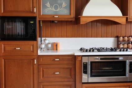 Where To Put The Microwave In Your Custom Kitchen Remodel