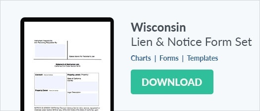 Mechanic Lien Law Summary & Resources for Wisconsin - State Projects