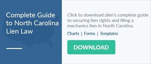 North Carolina Mechanics Lien Law: FAQs and Free Forms