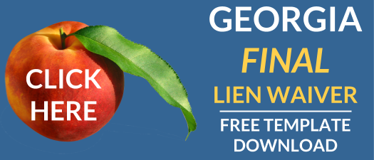 Guide To Georgias Final Lien Waiver Free Form Download