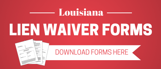 louisiana lien waiver faqs and resources