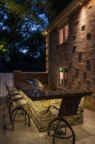 Outdoor kitchen series part one led tape light for Outdoor kitchen omaha