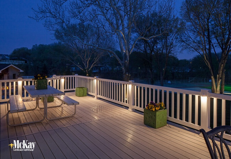outdoor lighting ideas for a deck or patio