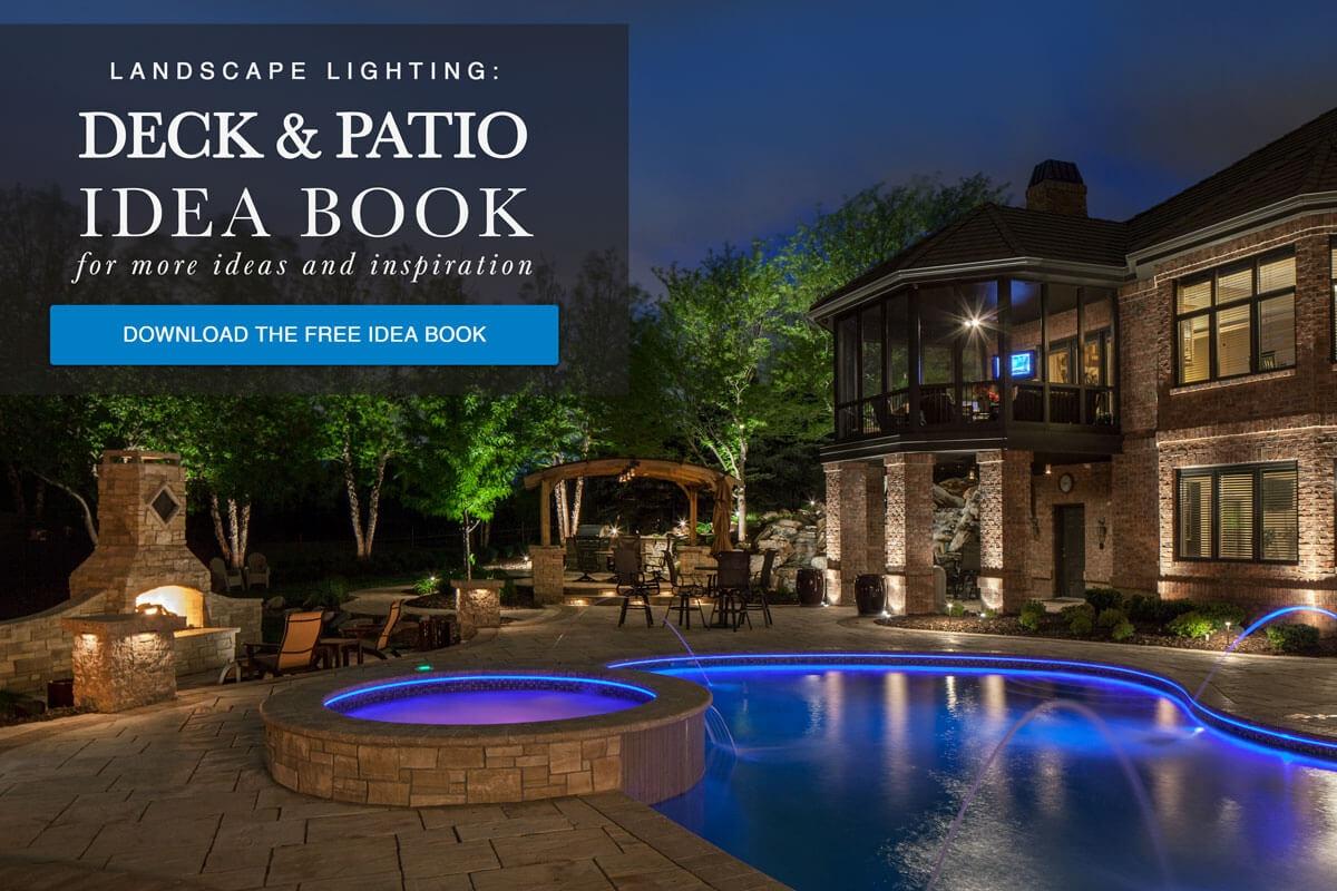 Download The FREE Deck U0026 Patio Outdoor Lighting Idea Book   McKay Landscape  Lighting Omaha Nebraska